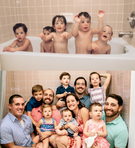 The Pisner Quintuplets Are All Grown Up With Kids of Their Own