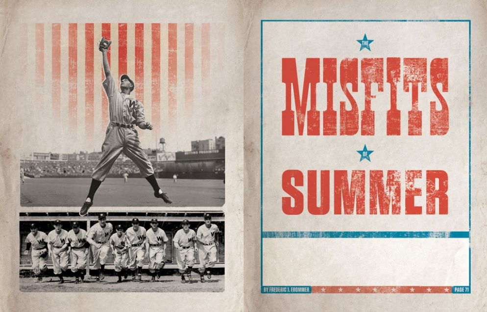 How a Half-Deaf Outfielder, a One-Legged Pitcher, and a Team of Misfits Made a Run for the World Series