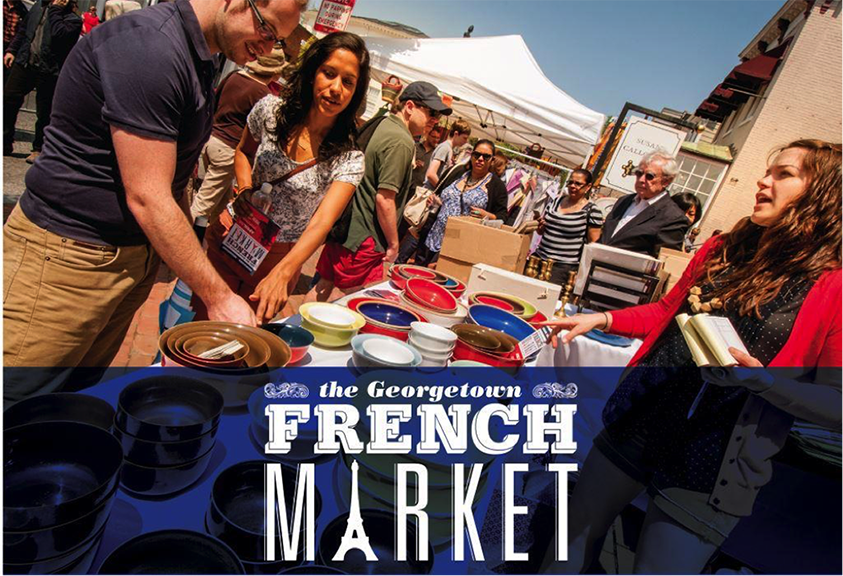 Bonjour! It's the Georgetown French Market!