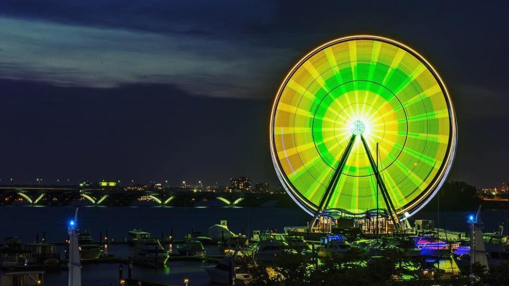 Photos of the Capital Wheel That Prove National Harbor is Pure Magic at Night