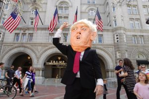Photos: DC Protestors Call on President Trump to Release His Tax Returns