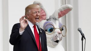 Trump's White House Was Competent Enough to Stage the Easter Egg Roll