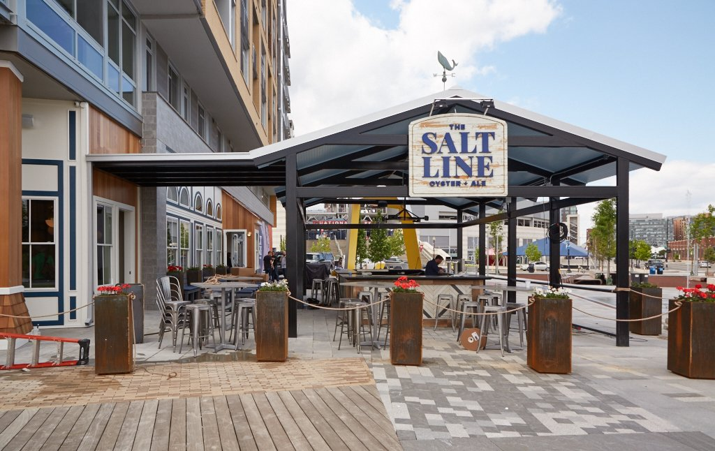 The Salt Line Is Dc S New Waterfront Seafood Spot For