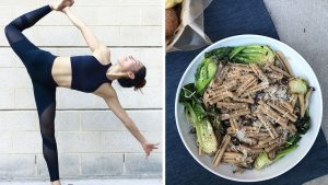 Asian Noodles and Mushroom Pasta: What a CorePower Yoga Instructor Eats in a Day