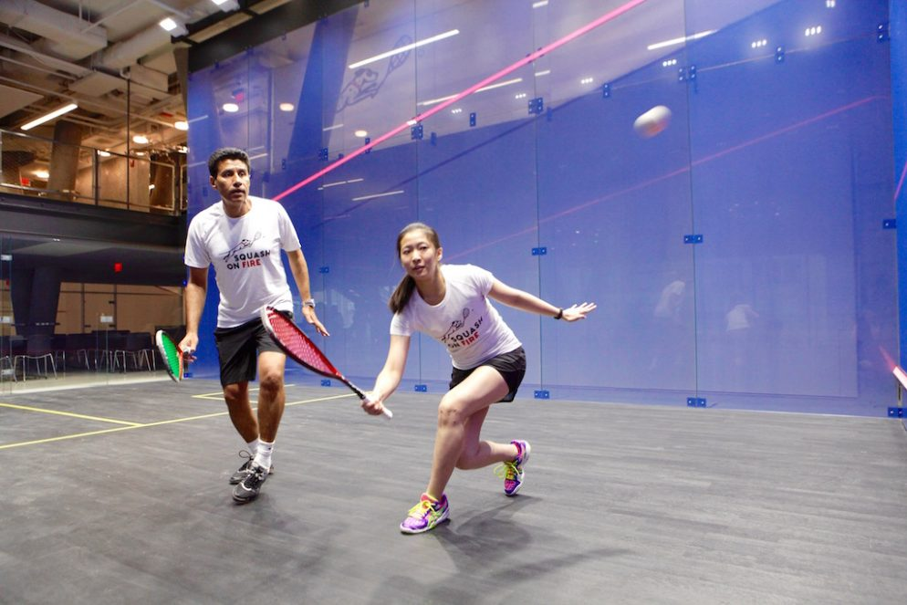 DC's New Boutique Squash Gym Is Way More Fun Than I Thought It'd Be