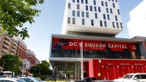 Take a First Look Inside DC's Luxe New Squash Gym