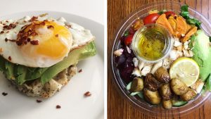 Waffle Breakfast Sandwich, Sweetgreen, and 16 Cups of Water: What a Semi-Paleo Foodie Eats in a Day