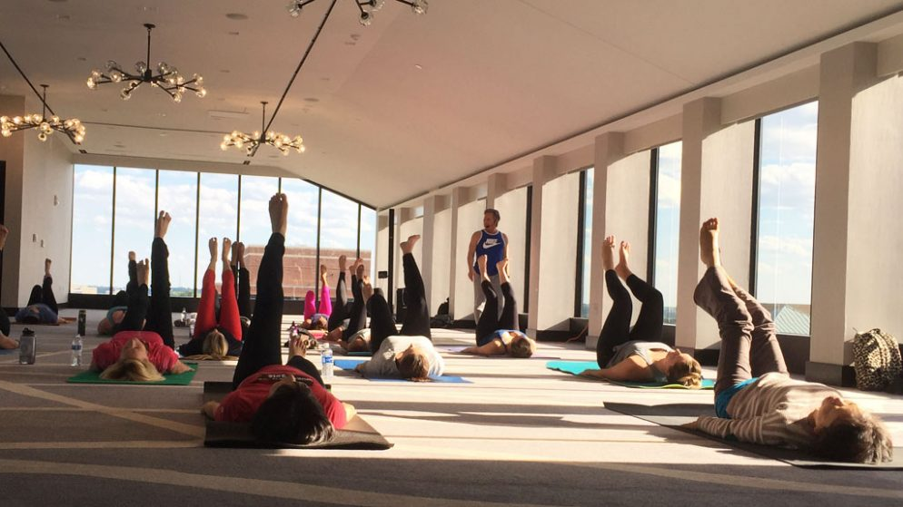 Take FREE Yoga Classes in May on This Bethesda Hotel's Rooftop