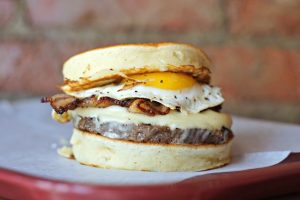Add This New Pancake Burger to Your Brunch Bucket List