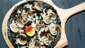 The Activated Charcoal Trend Is Now Taking Over Your Pizza