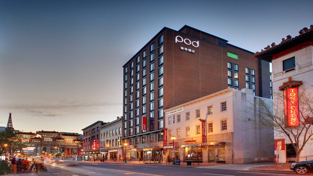 With Pod Dc Washington Gets A Second Micro Hotel