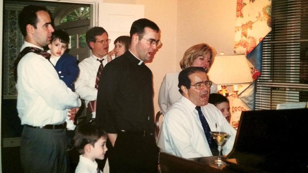 Antonin Scalia's Catholic Priest Son Doesn't Like Being