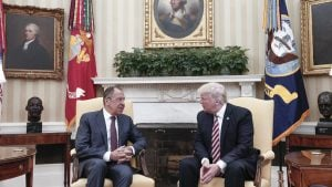 Every Publicly Available Photo of President Trump's Meeting With the Russian Foreign Minister