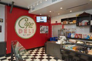 There's a Secret Bar in the Back of Capo Italian Deli