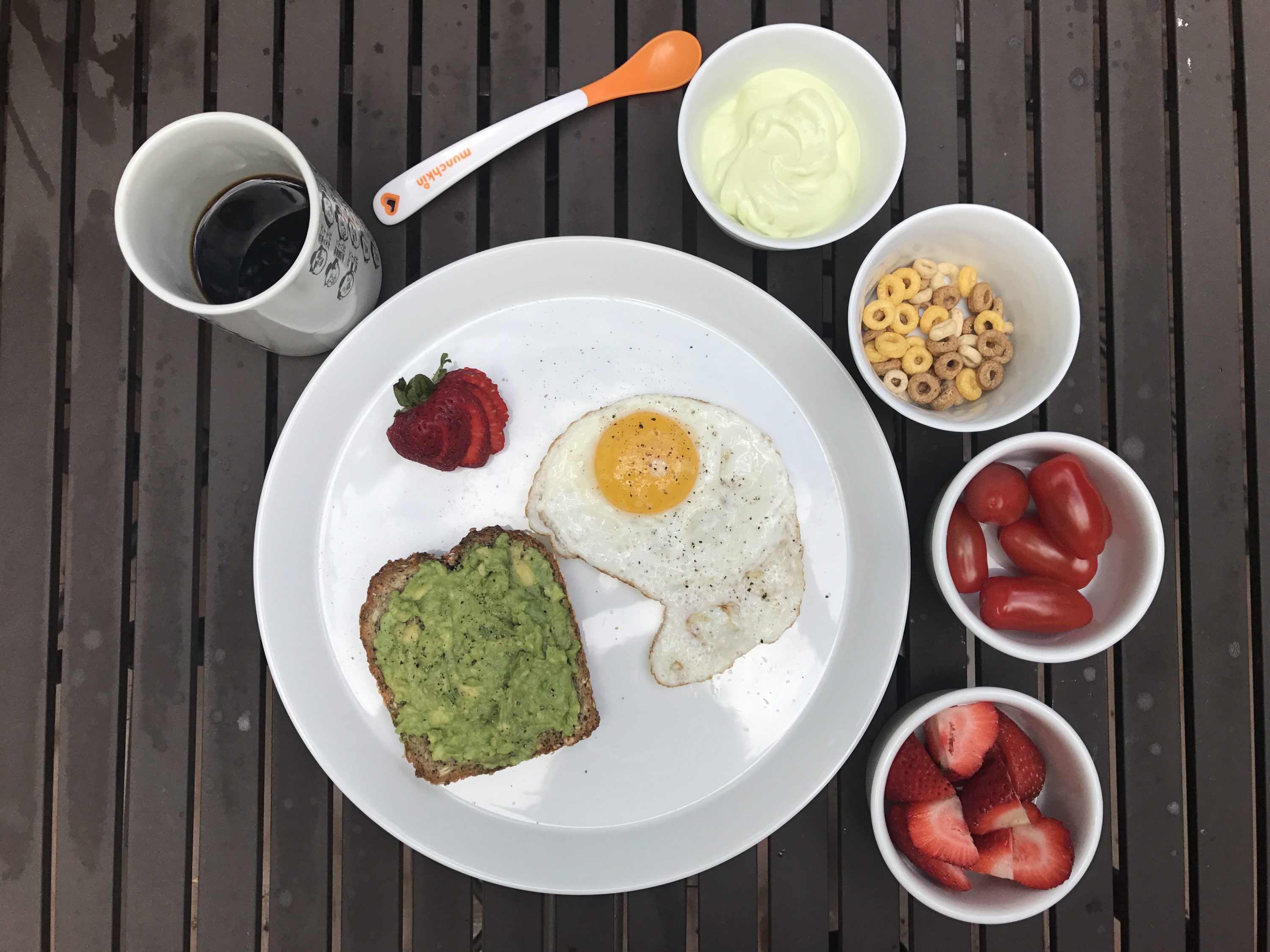 Avocado toast chicken meatballs and lasagna what a nutritionist breakfast forumfinder Image collections