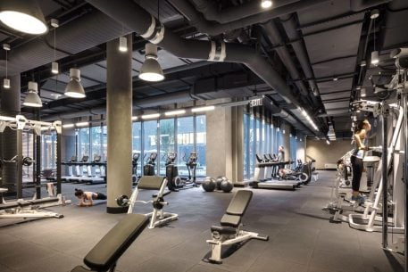 """This Navy Yard Apartment Building's Amenities Include a Residents-Only Equinox Gym and a Rooftop """"Meditation Lawn"""""""