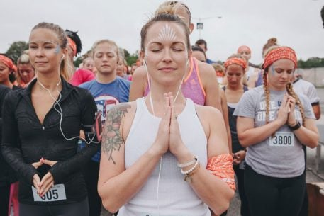 """Attention Yoga Fans: A """"Mindful Triathlon"""" Is Coming to DC"""
