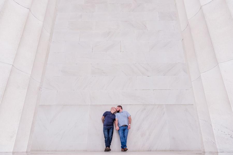 Clint Day Justin Jones Chris Ferenzi Goofy Monument Engagement Photoshoot