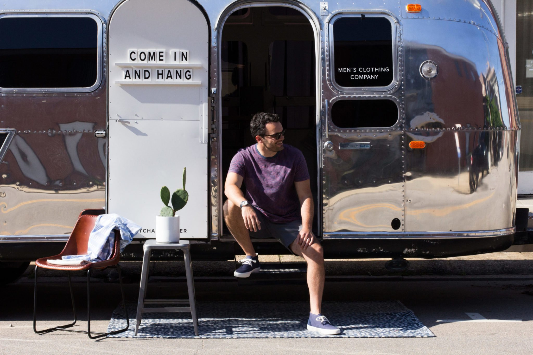 Grayers x Pitch & Primer Vintage Air Stream Father's Day Pop-Up Shop