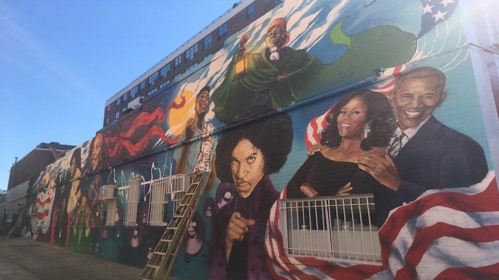 PHOTOS: The New Ben's Chili Bowl Mural