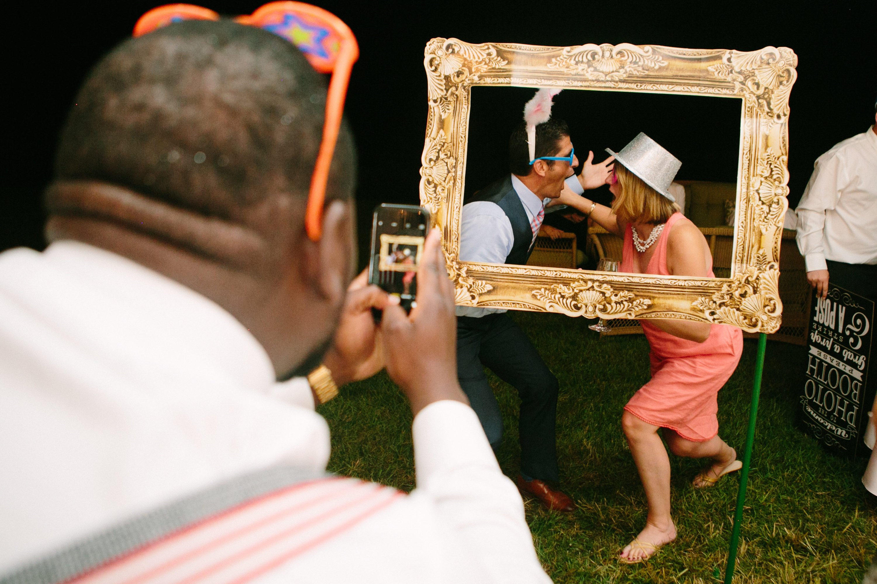 Katelyn Mancini and Jordan Coffman Deer Wedding With Silent Disco and Bicycle