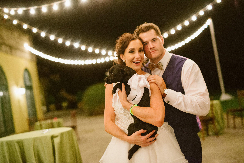 Katelyn Mancini and Jordan Coffman Deer Wedding With Silent Disco and Bicycle