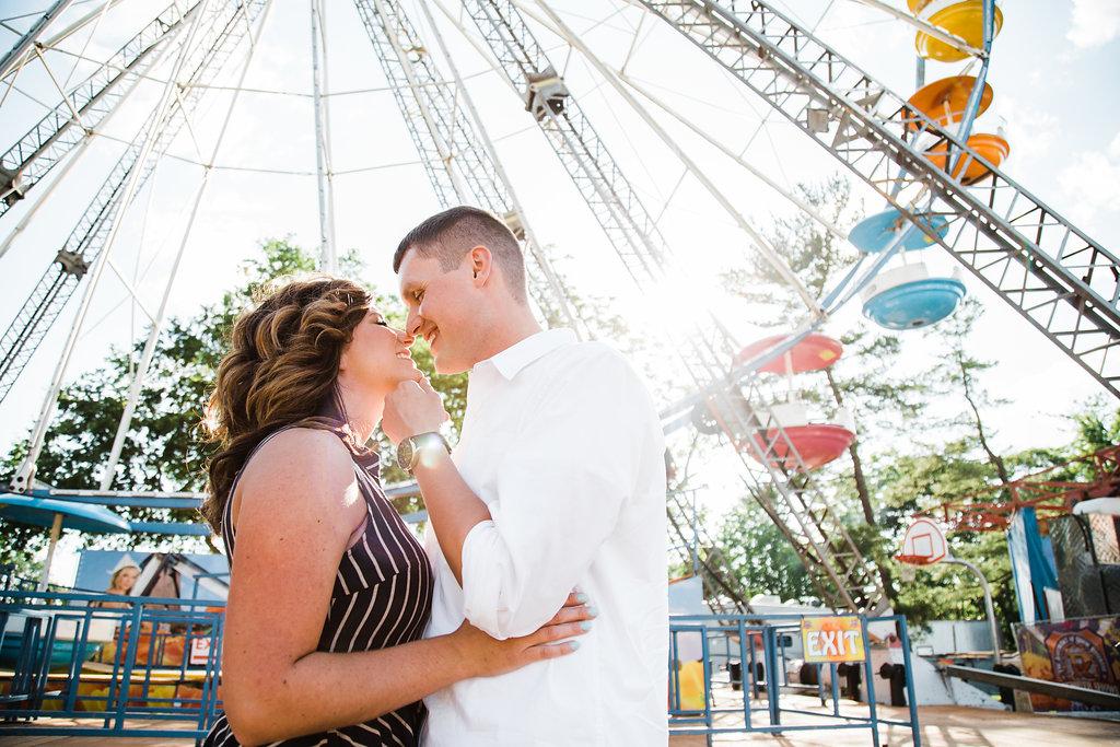 Boonsboro Maryland Carnival Engagement A Natural Portrayal Photography