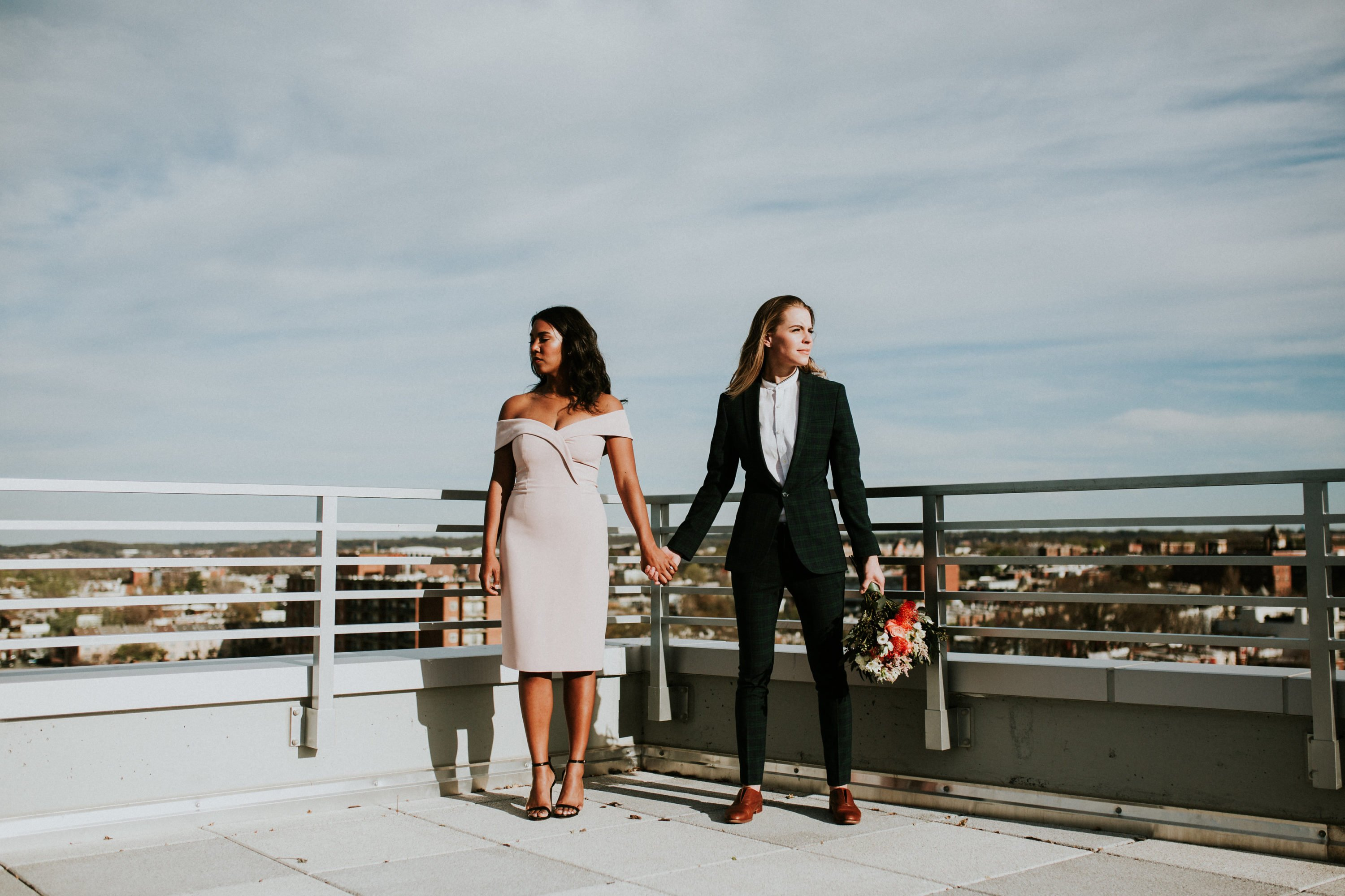 apollo dc mackenzie huffman nicole wyche stylish engagement shoot gay engagement washington dc