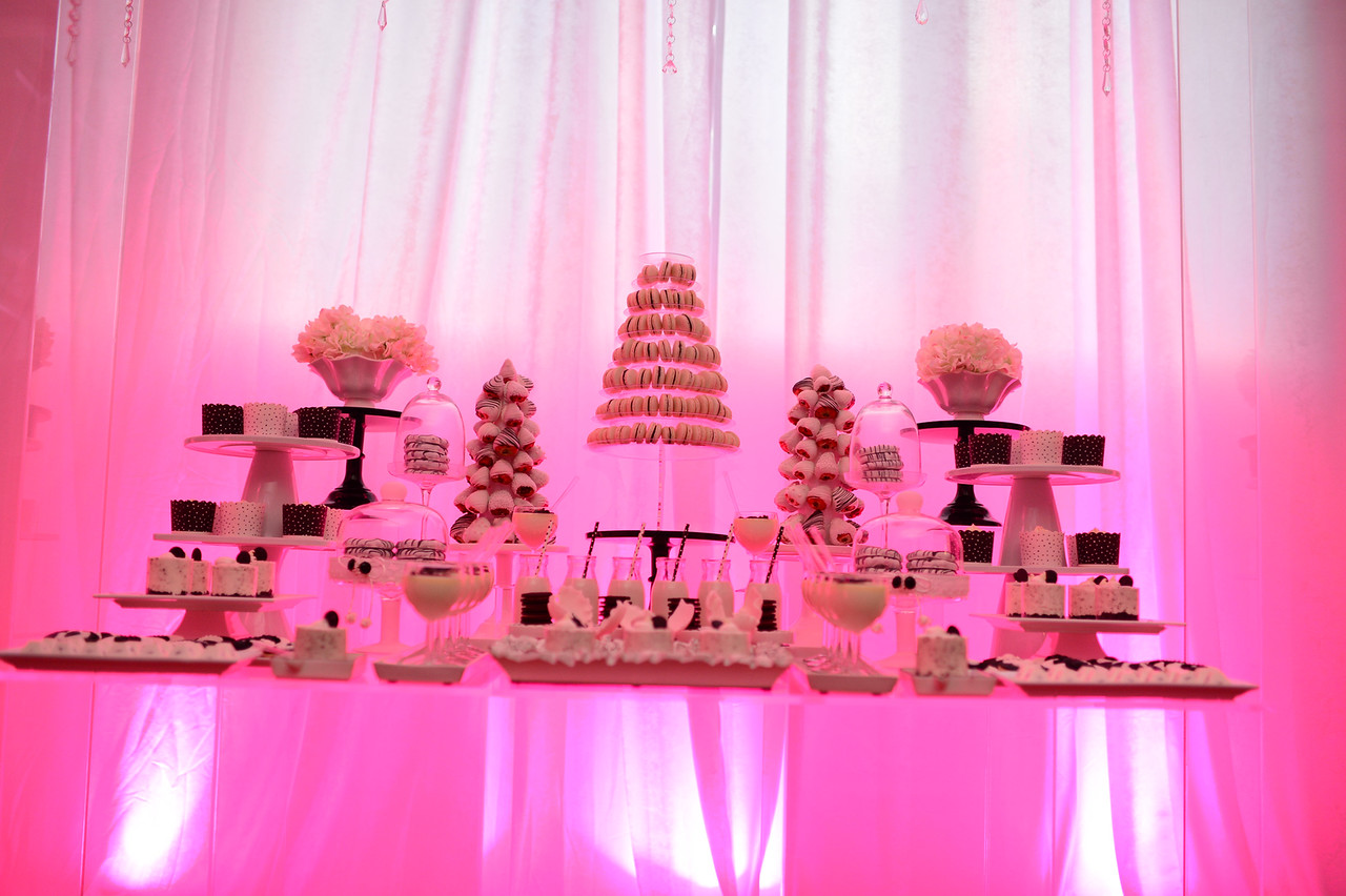 Nifesimi Oluwole Olumide Akingbe Carnegie Library Neon Pink Dessert Bar Paosin Photography