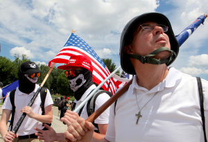 Legal Experts: It's Probably Fine to Cuss Out White Supremacists in DC
