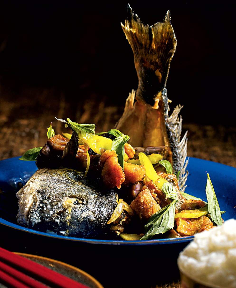 This Dish at DC's Tiger Fork Will Change Your Mind About Whole Fried Fish