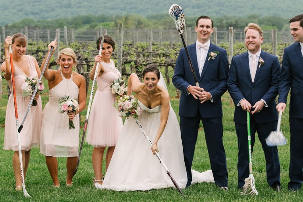 When This Groom Saw His Ice Hockey Star Bride S Photo In The School Paper