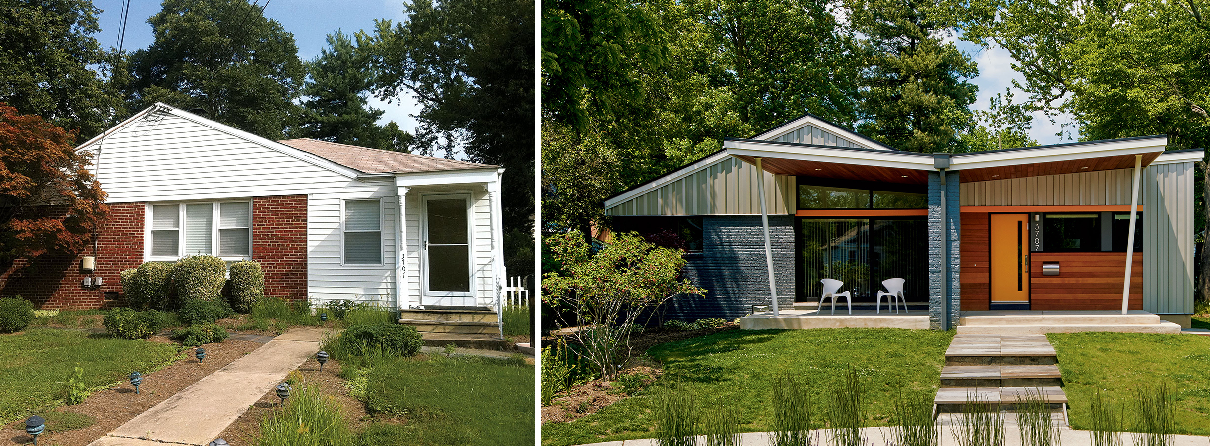 Get The Look Two Dc Area Home Makeovers You Ll Want To