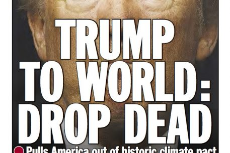 """""""Drop Dead"""": How Trump Inspired the New York Daily News to Revive Its Most Famous Headline"""