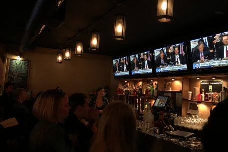 Trump Stays Off Twitter, Denies DC Bar Patrons Free Drinks