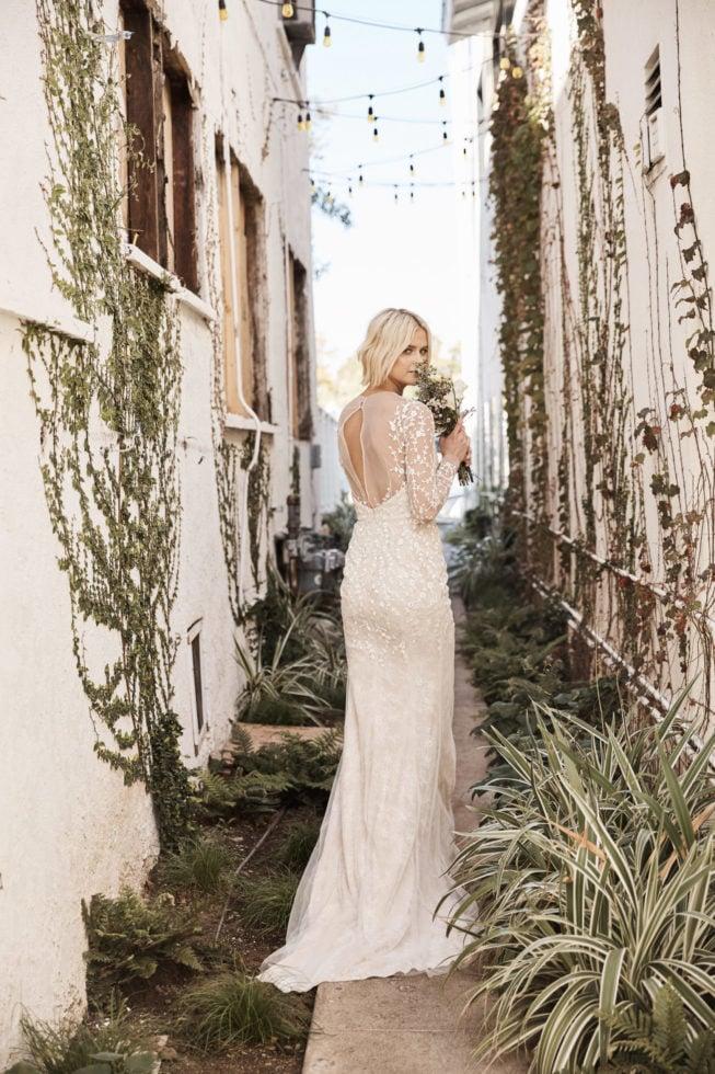 Floravere designer luxury wedding dresses Alfred Angelo gowns delivery custom
