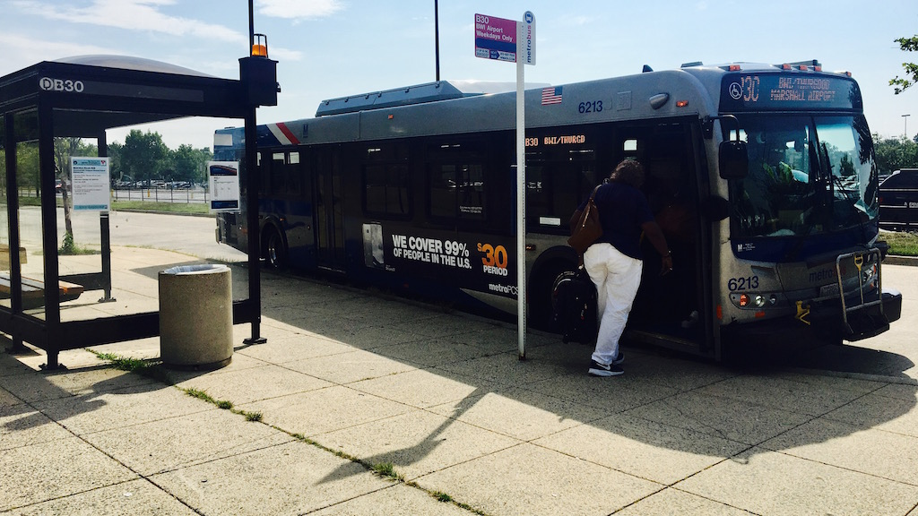 With Metro's Cuts to the BWI Bus, Everyday Commuters May Be Hit Hardest
