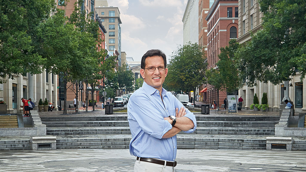 """Eric Cantor: """"If You've Got That Anger Working for You, You're Gonna Let It Be"""""""