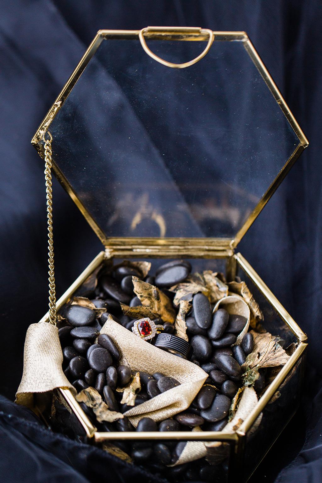 Kristin Mastrangelo Goth Mansion Anniversary Photoshoot gothic wedding photoshoot