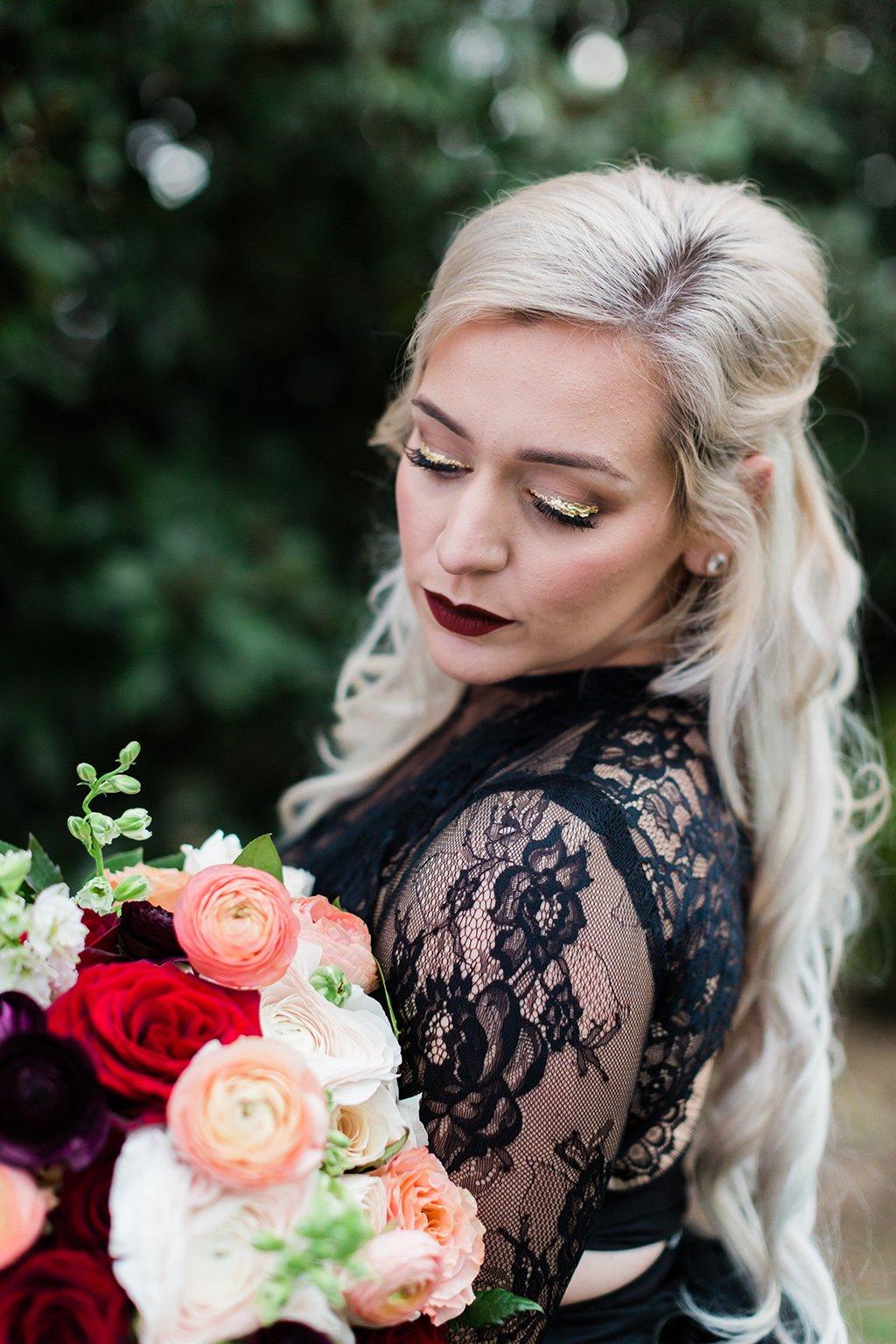 Kristin Mastrangelo Goth Mansion Anniversary Photoshoot