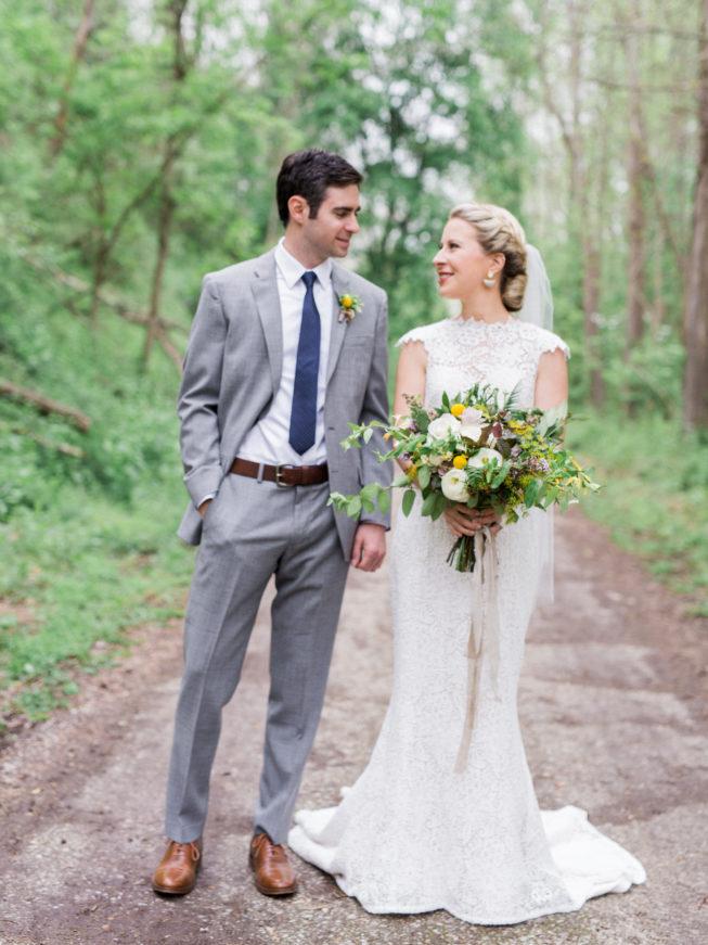 Liz McAvoy + John Gabriel Linen Mills House Wedding | Renee Hollingshead282