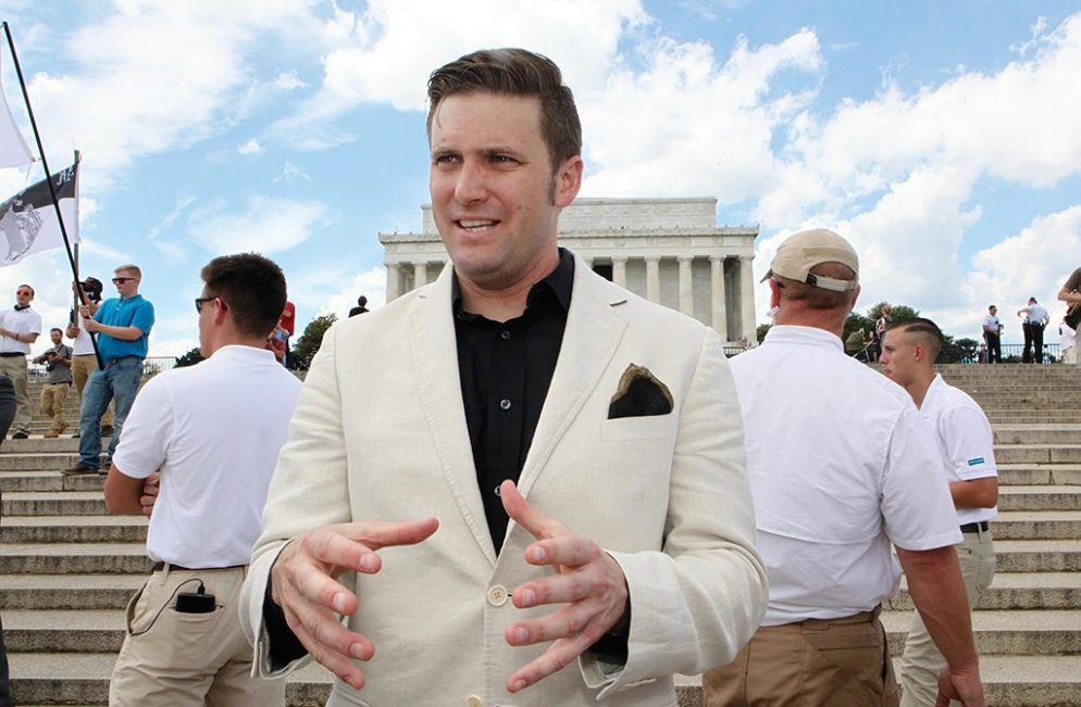 Report: Richard Spencer Has Left Old Town Alexandria