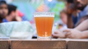 Head to the New Continental Beer Garden for Weekend Happy Hour, Bocce