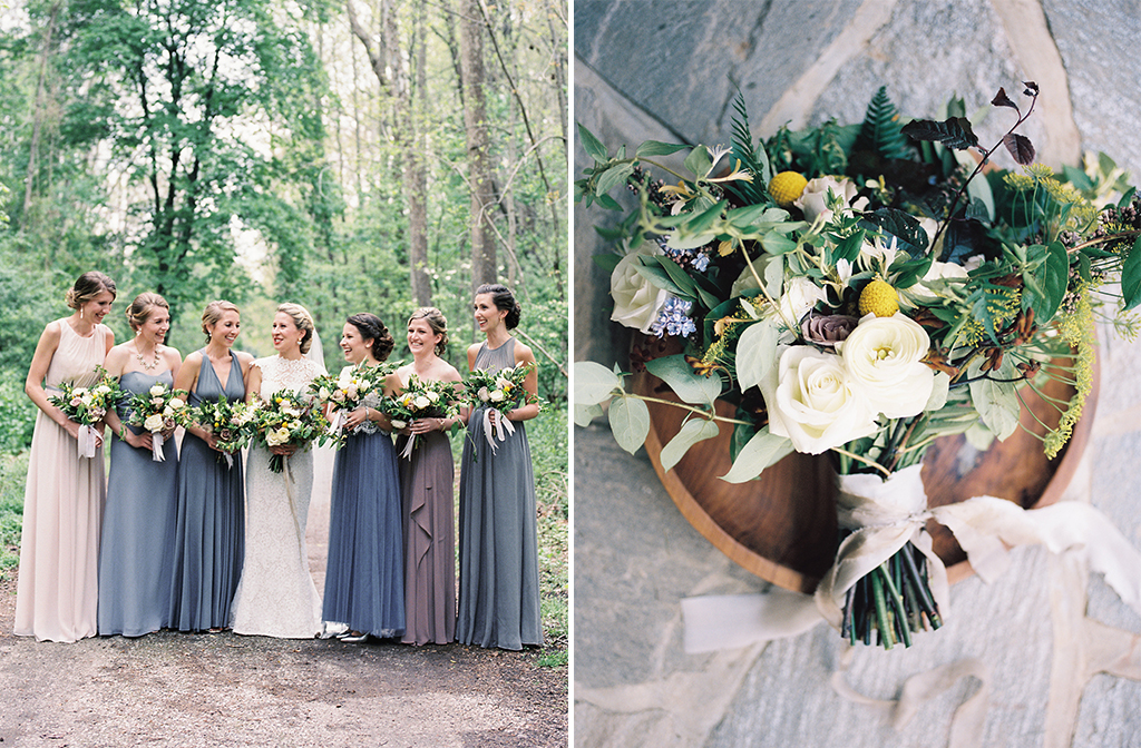 This Dreamy Secret Garden-Inspired Wedding in Baltimore Is Rustic Perfection