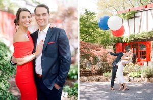 This Engaged Couple Channeled the French Countryside in Northern Virginia and The Results Were So Good