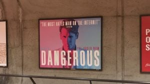 "Milo Yiannopoulos Says Metro's Decision to Remove Book Ads Is ""Unconstitutional"""
