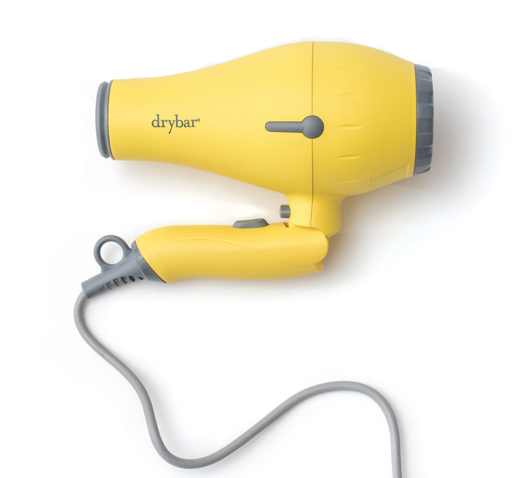 sweat-proof beauty products drybar blowdryer