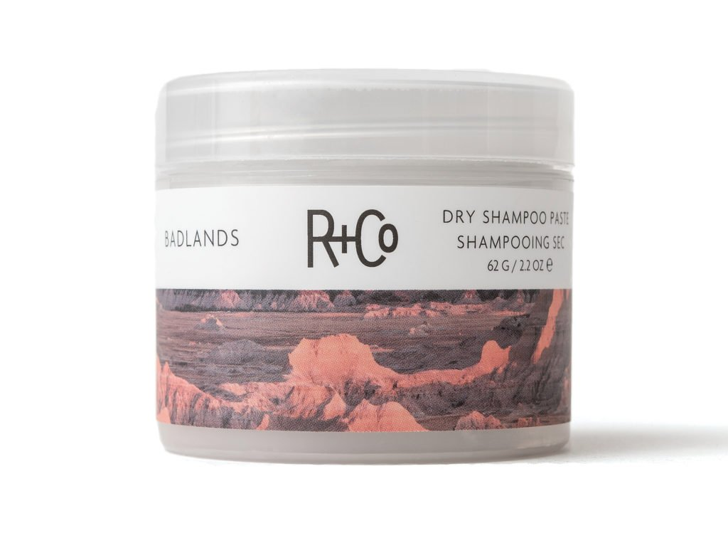 sweat-proof beauty products badlands R+Co Dry Shampoo paste