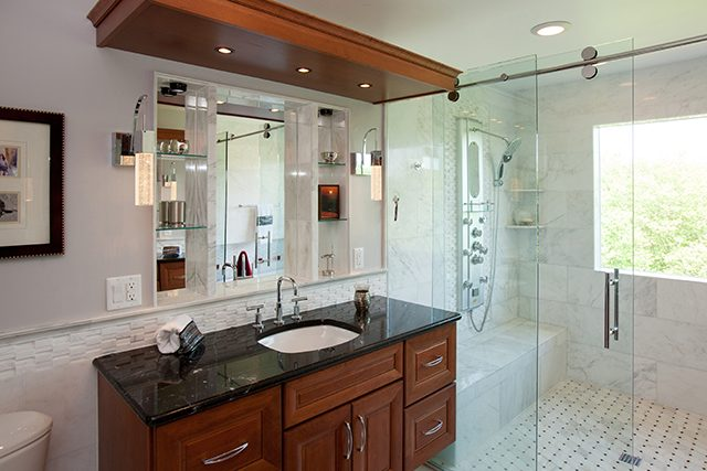Bath Design Bethesda MD For The Hardest Working Room In The House. Bathroom  Plumbing, Electric Lines, Cabinetry And Counters, All Working Hard To Make  Your ... Part 88