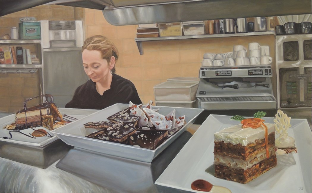 This Artist Loved DC's Food Scene So Much She Decided to Paint It